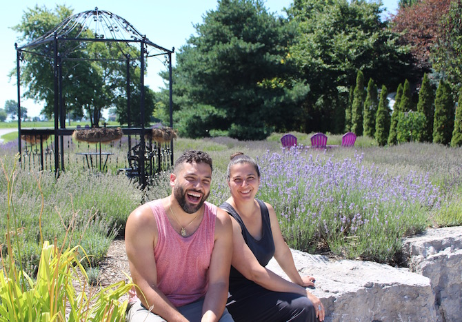 North 42's Serenity Peace Garden, Windsor, Ontario