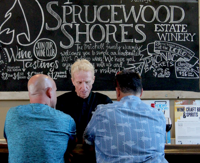 The Sprucewood Shores Estate Winery