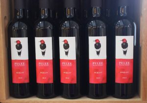 Pelee Island Wine labels