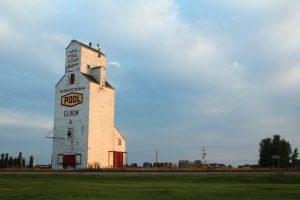 Le silo d'Elbow, Saskatchewan.
