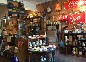 Antique shop on Saint-Paul, Quebec City