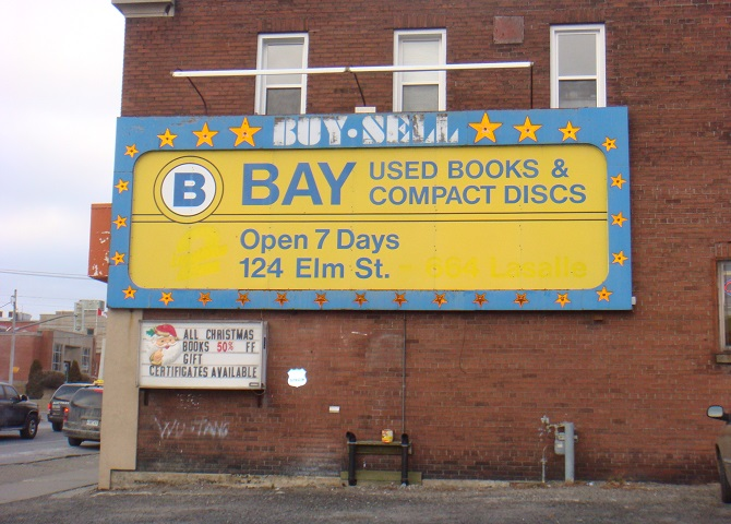 Bay Used Books, a Sudbury institution since 1975, What to do in Sudbury, Sudbury Canada