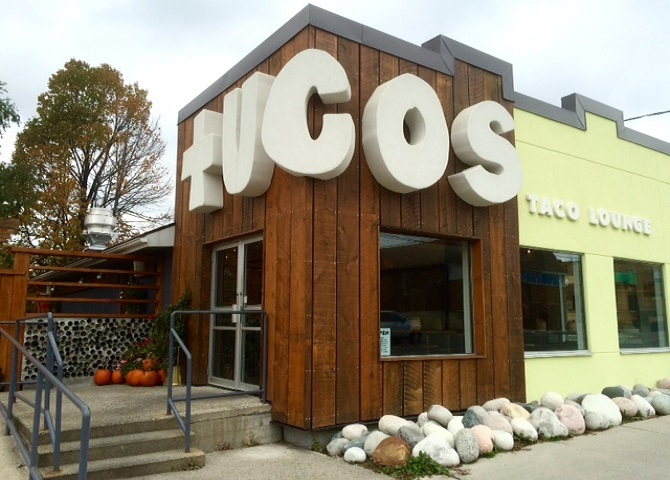 Tucos Tacos in the Donovan Neighbourhood, What to do in Sudbury, Sudbury Canada