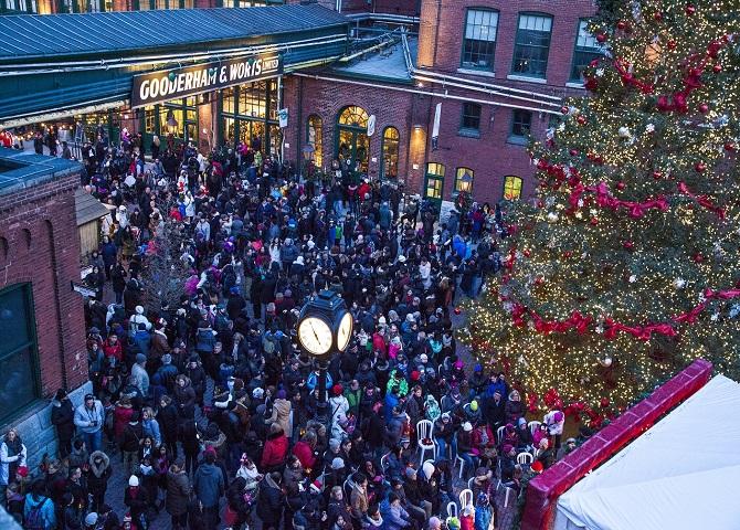 Marché de Noël, activités hivernales, plaisirs d'hiver