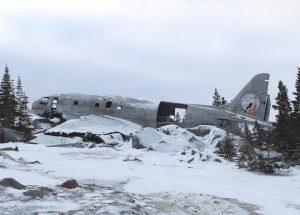 Fuselage de l'avion écrasé Miss Piggy, Endroits à visiter au Canada, Churchill, Manitoba