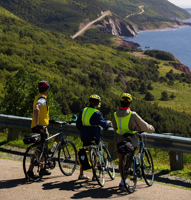 Guided Cycling Tours Canada