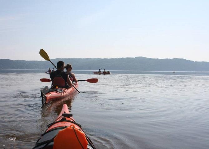 Kayak fjord1