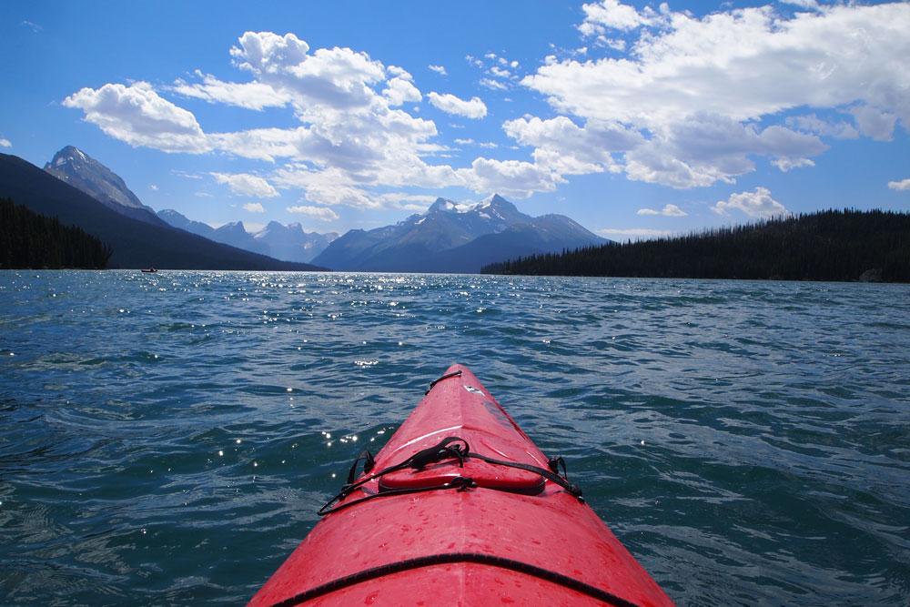 Maligne-Lake,-Jasper