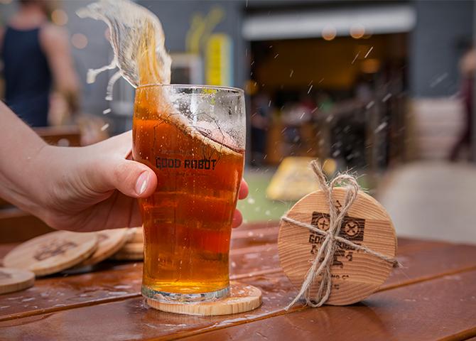 Good Robot Brewing compte parmi la dizaine d'entreprises locales participant au Cask Beer Throwdown d'Halifax (image : Good Robot Brewing)