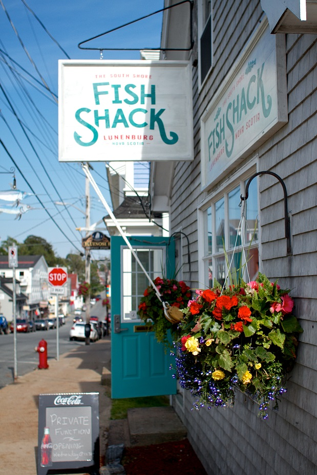 The South Short Fish Shack, Lunenburg, Nova Scotia