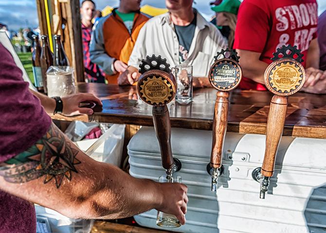 À Georgetown, en Ontario, le festival Head for the Hills est un supporteur assidu des œuvres de charité locales et des brasseries artisanales (image : Steve Frost)