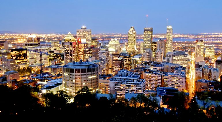 View Of Montréal