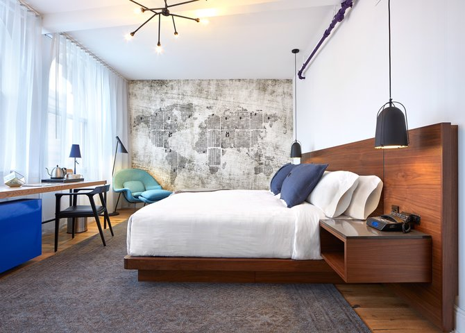 Une chambre à l'hôtel Walper (©Walper Hotel)