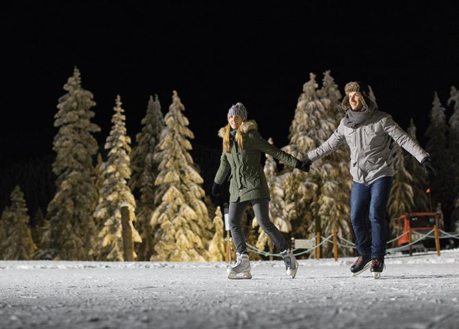 La patinoire de Grouse Mountain (©Grouse Mountain)