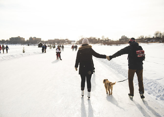 The Red River Mutual trail (©The Forks Winnipeg)