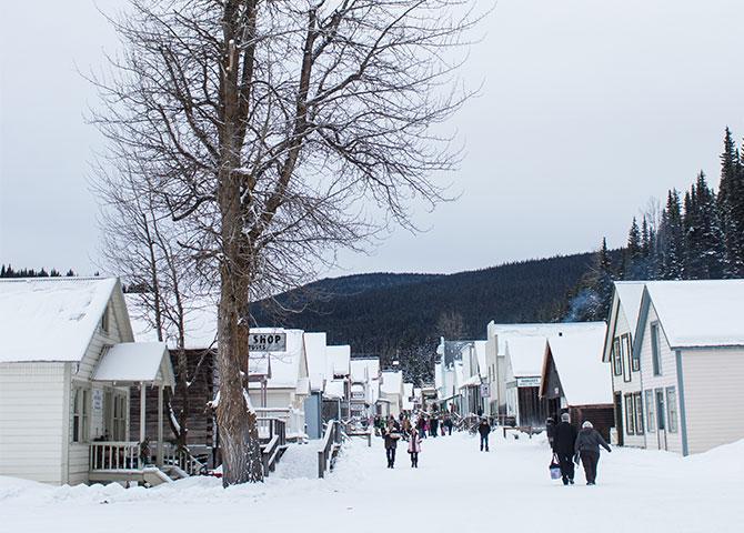 La ville historique de Barkerville, C-B. (©Kelcie Hack)