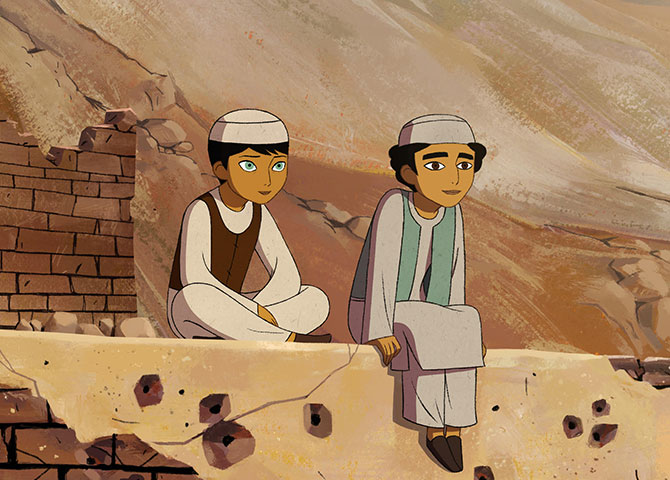 Deborah Ellis's The Breadwinner at the 2017 Ottawa International Animation Festival. (© OIAF)