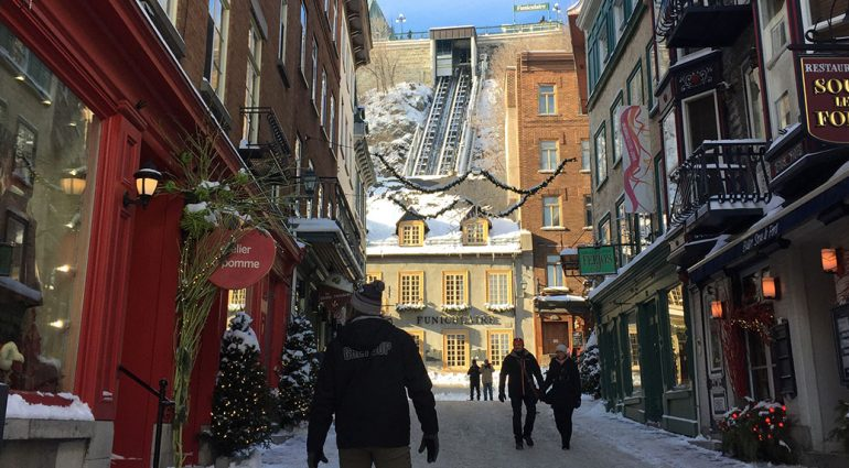 Winter Fun in Quebec City