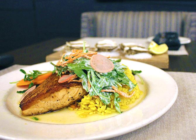 Diner au restaurant 1809 (©Rodd Hotels & Resorts)