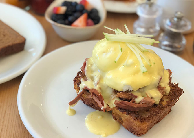 Don't miss the eggs benny at Northside Espresso and Kitchen