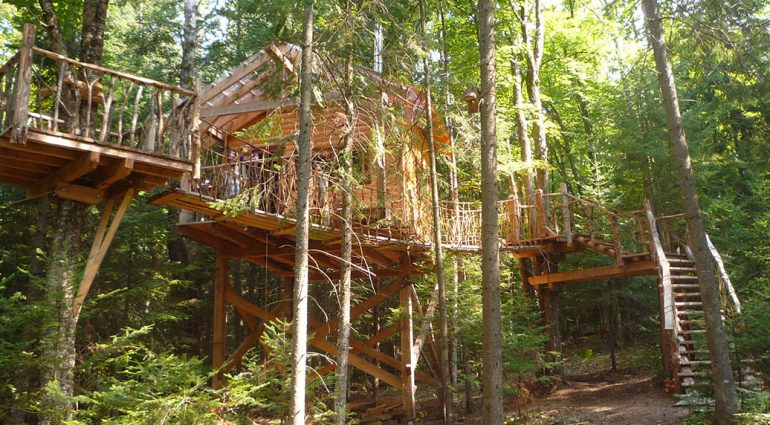 Five of Canada's great glamping destinations