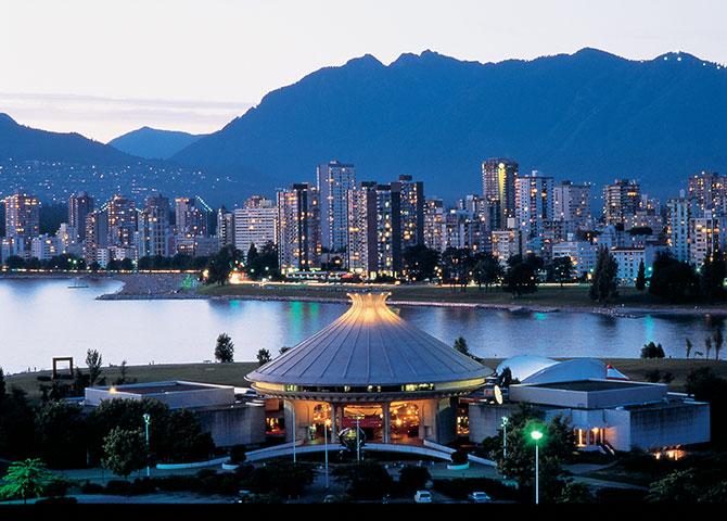 Le toit du Musée de Vancouver ressemble à un chapeau traditionnel en cèdre (© Al Harvey/ Tourism Vancouver)