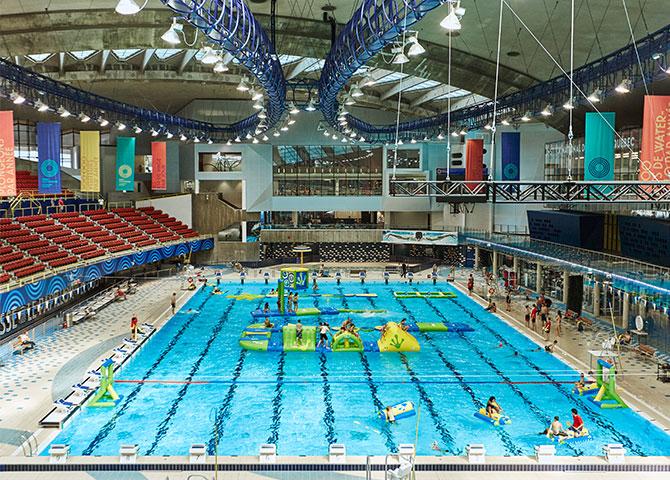 Plongez dans la piscine olympique de Montréal (© Parc Olympique)
