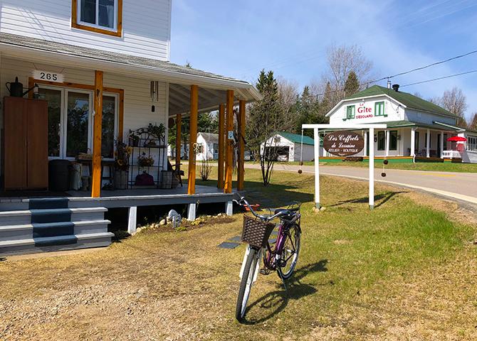 Les Coffrets de Lorraine dans le centre-ville du Lac Edouard