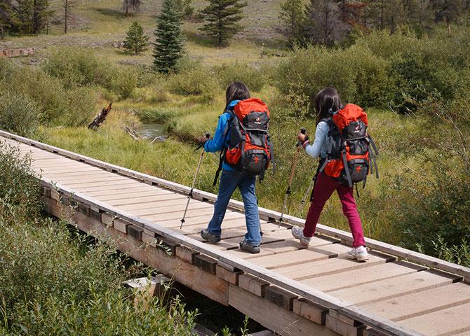 Jasper offre de magnifiques sentiers de randonnée (© Blue Peak Photography)