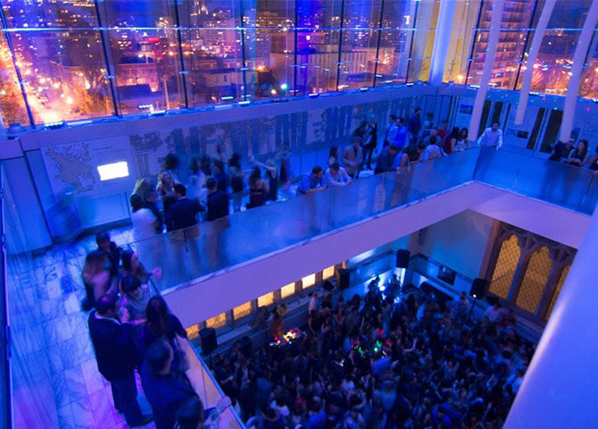 Dance the night away at the Canadian Museum of Nature (© Capital Pride)