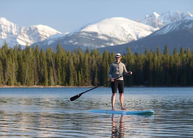 Découvrez les lacs de Jasper