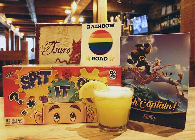 Jouez un jeu de société ou prenez une bière au Level One Pub (©Level One Pub)