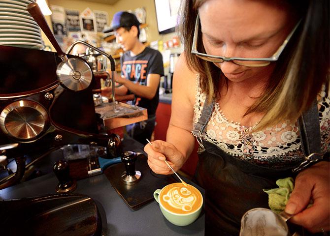 Obtenez votre dose de caféine au Snowdome Coffee Bar
