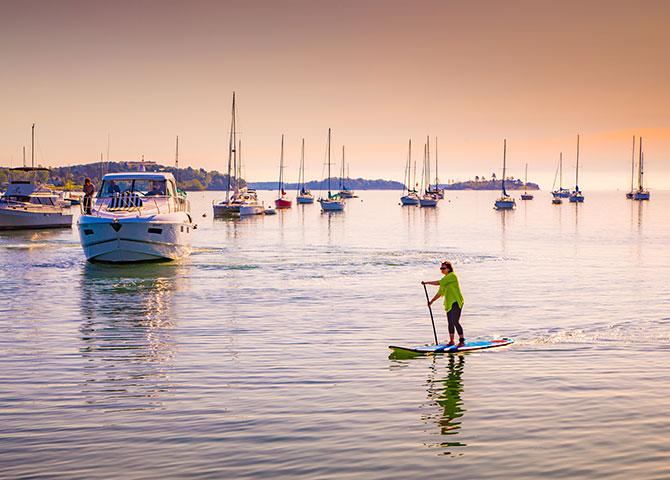 Ne manquez pas un magnifique coucher de soleil en Nouvelle-Écosse (© Tourism Nova-Scotia/Acorn Art Photography)