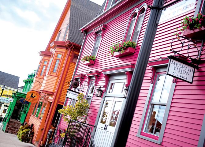 Lunenburg, site du patrimoine mondial de l'UNESCO, est réputée pour ses maisons aux couleurs vives (© Tourism Nova Scotia)