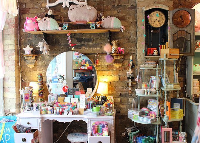 Go gift shopping at the whimsical shop The Beau & Babble