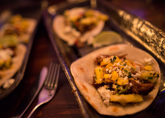 Try delicious Mexican cuisine at El Cortez (© EEDC)