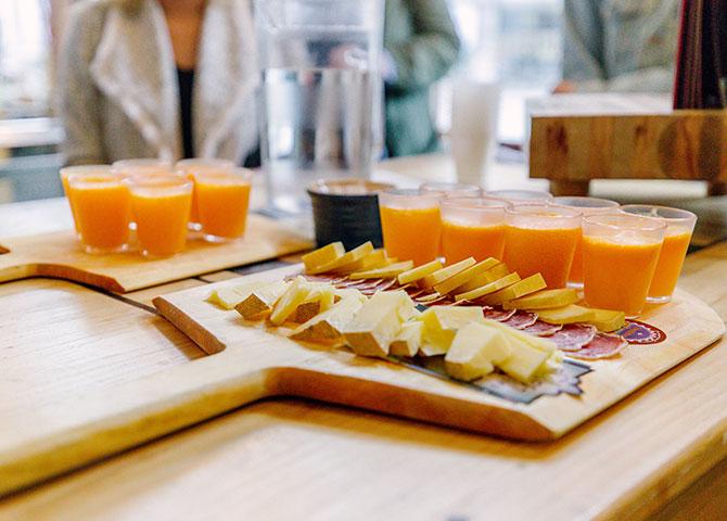 La Fromagerie des Grondines offre des fromages locaux et de la charcuterie