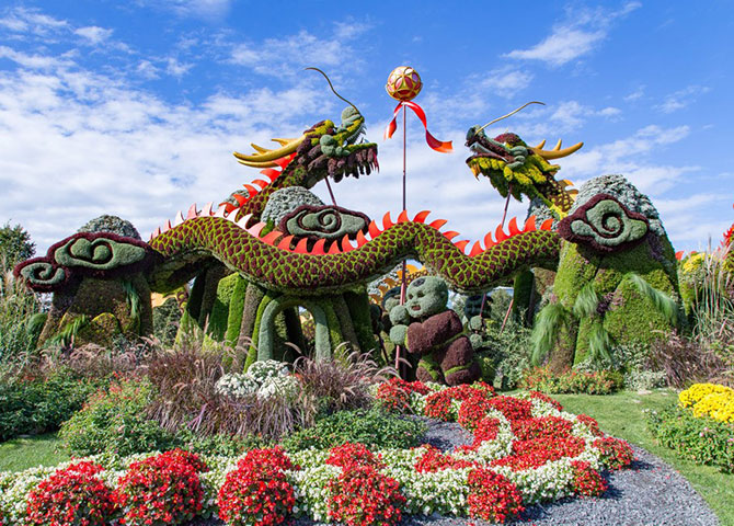Don't miss MosaiCulture Gatineau at Jacques Cartier Park (©MosaiCulture)
