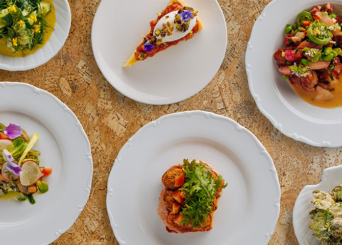 Some of the tasty plates at Soif Bar à Vin (© Transparent Kitchen)
