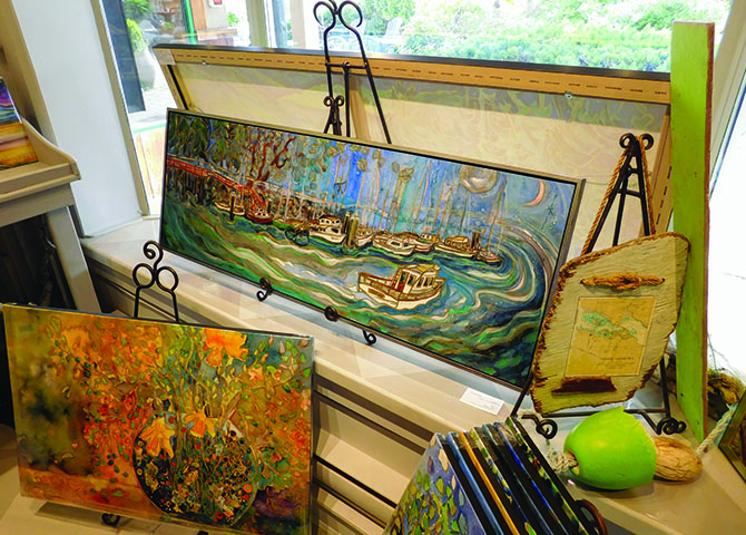 Art abounds on Salt Spring Island