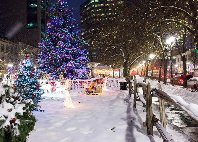 Gore Park gets a holiday makeover in December