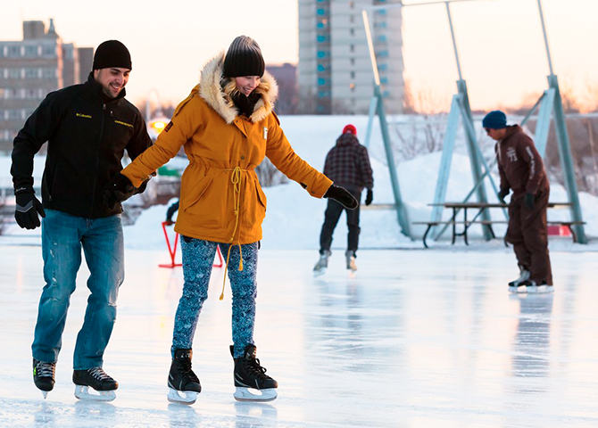 Pier 8: the best place to skate! (image: Tourism Hamilton)