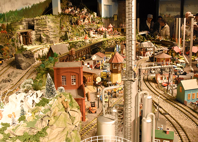 While away the hours at the Royal Botanical Garden's Train Show
