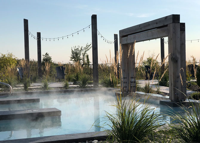 Relax and unwind at the USVA Spa Nordik