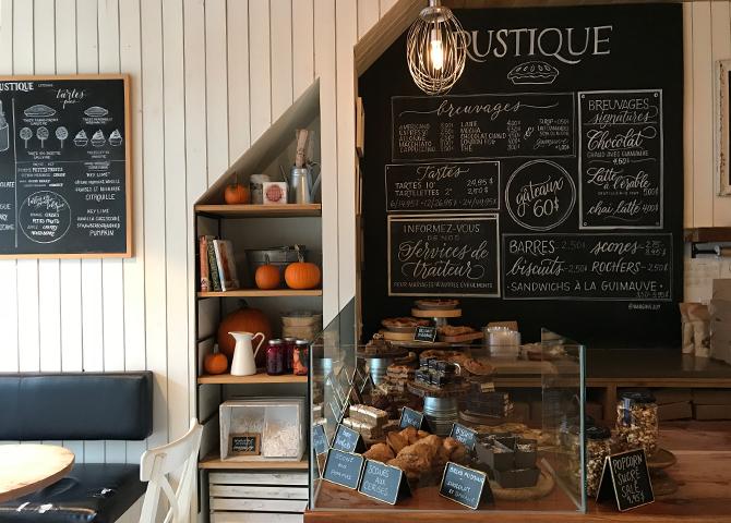 pâtisserie Rustique, St-Henri, Montreal