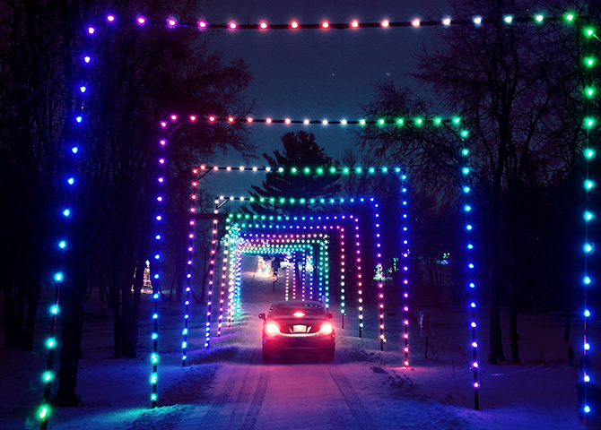 Gift of Lights in Kitchener