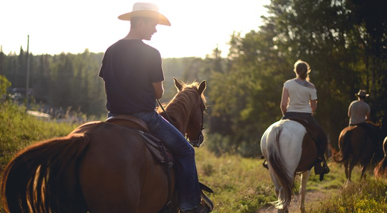 Experiencing Canada on Horseback